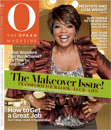 Oprah magazine resume makeover