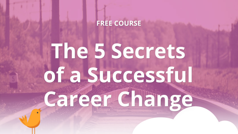 the 5 secrets of a successful career change