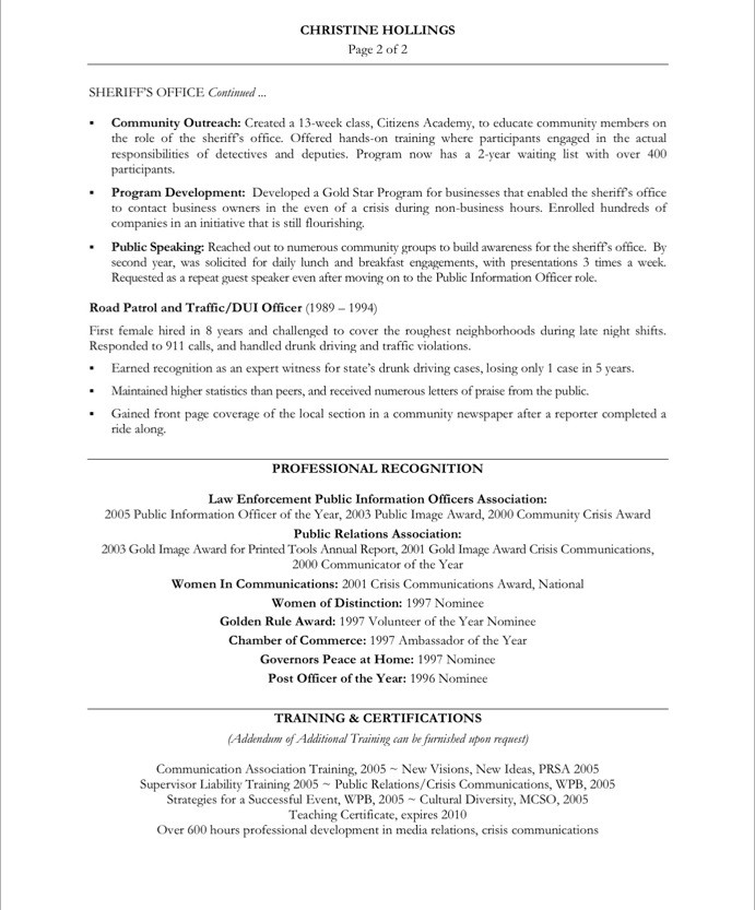 Old Version Old Version  Communication Resume Sample