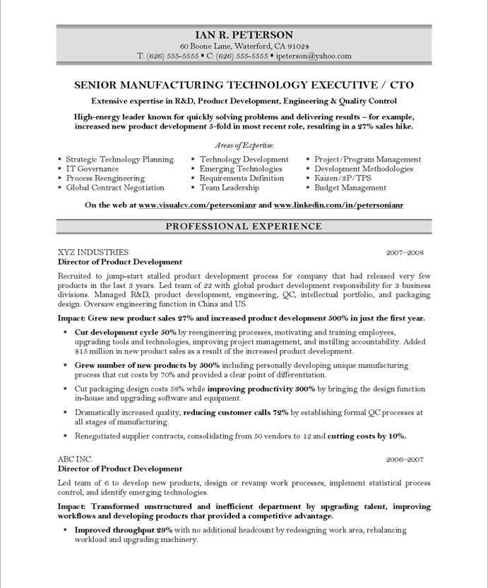 Sample Resume: Sle Resume Accomplishments Cto Resumes Middot.  Accomplishments For Resume