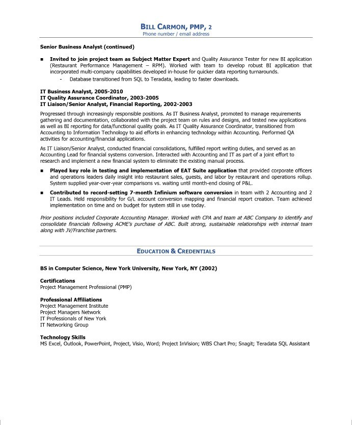 project manager free resume samples blue sky resumes