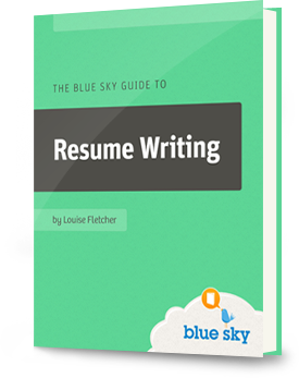blue sky resumesthe blue sky guide to resume writing